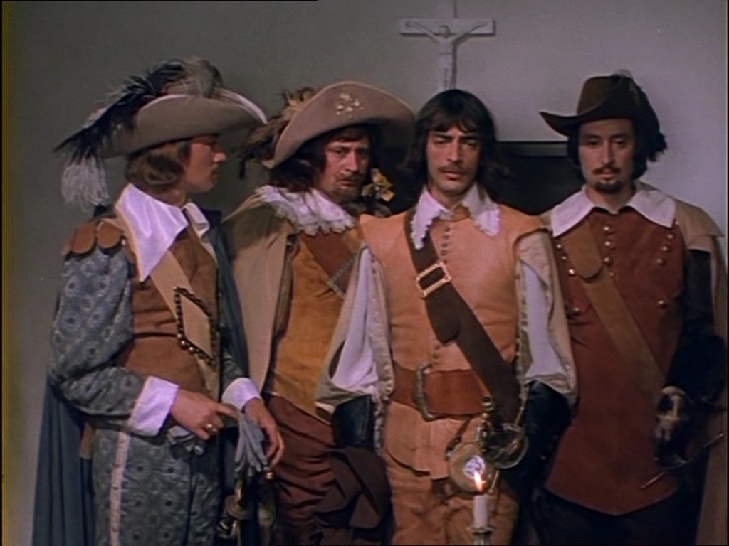 Три мушкетера эротика 28 фотография